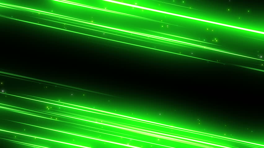 Green Light Effects Stock Footage Video: Green Light Effects In A Dark Background Stock Footage
