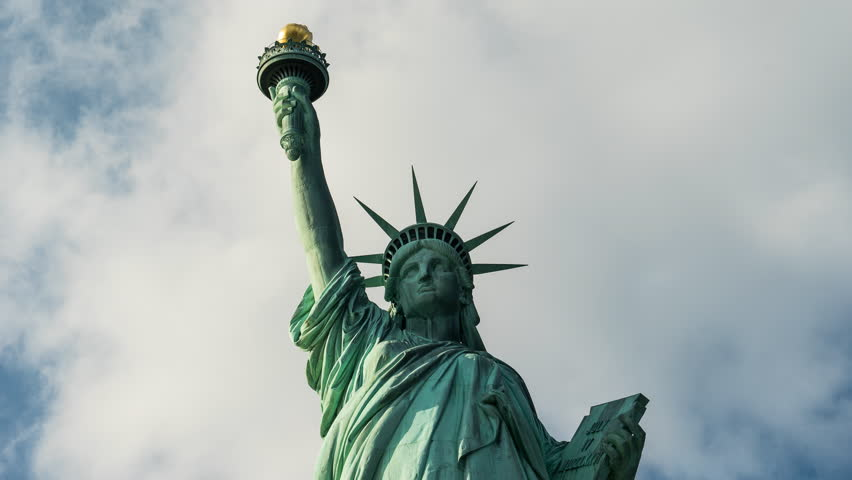 Statue of Liberty, time lapse - October 2016.New York City, United States | Shutterstock HD Video #23577592