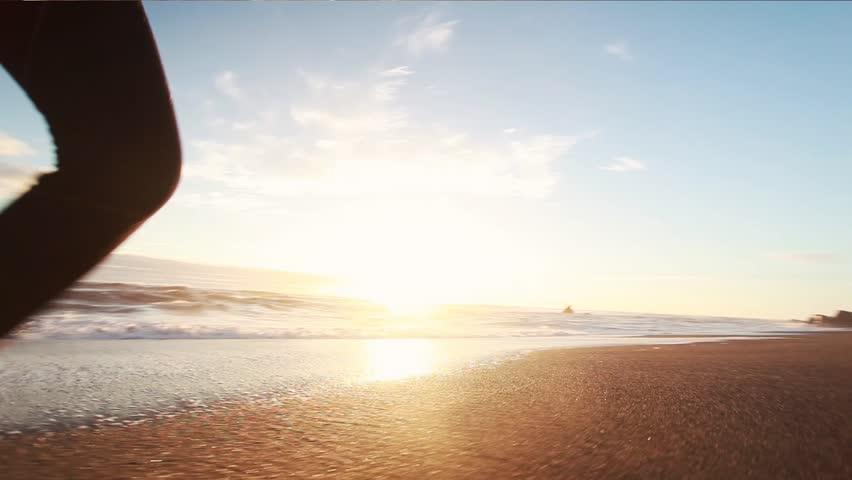 Beautiful girl on the beach   Shutterstock HD Video #23597572
