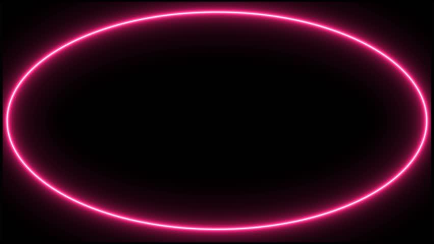 beautiful neon circles 4k - photo #2