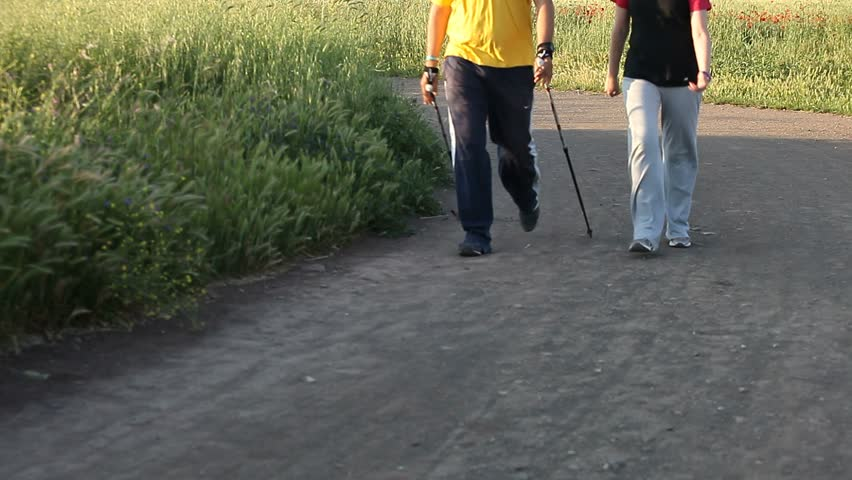 Walking and jogging in the park | Shutterstock HD Video #2377037