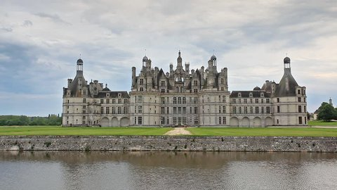 The chateau de Chambord in the Sologne area of France.