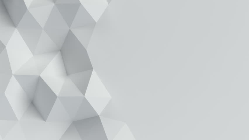 White seamless animated background loop #23853502