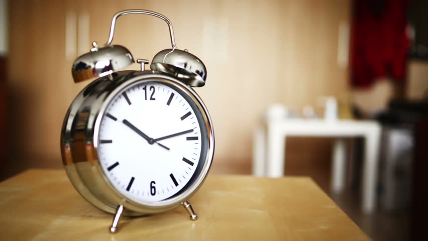 Metal Vintage Alarm Clock Counting Stock Footage Video (100% Royalty-free)  23858482 | Shutterstock