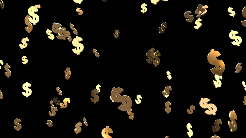 Dollar sign Drop  | Shutterstock HD Video #23907202