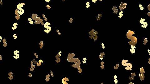 Dollar sign Drop