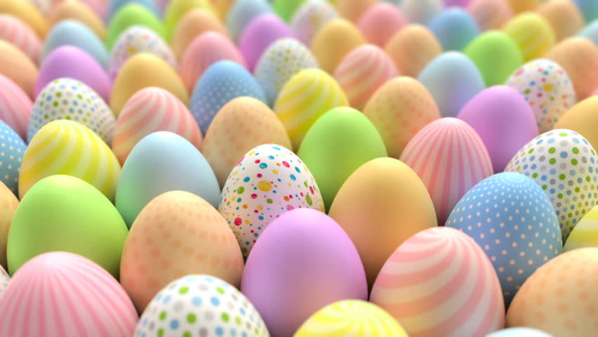 beautiful easter eggs background - photo #18
