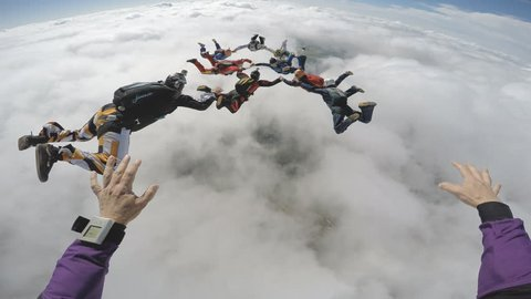 Skydive point of view