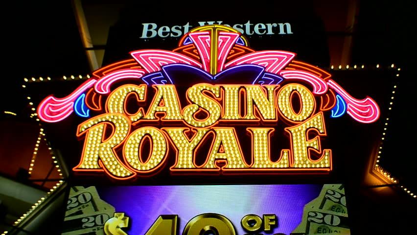 casino royal schrift