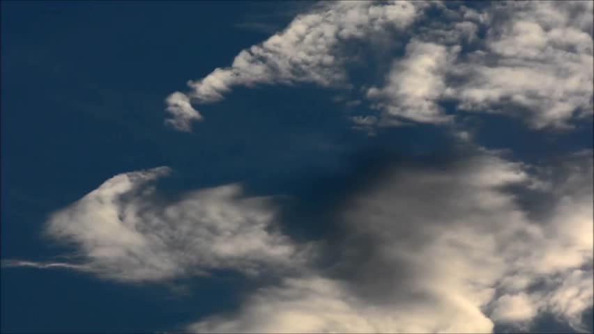 Summer Clouds in Berlin, Germany | Shutterstock HD Video #24136702