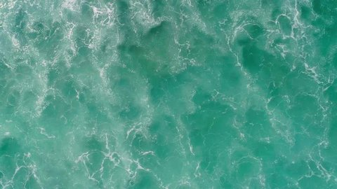 Waves breaking on Bali