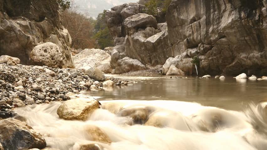 Water falling in fast motion | Shutterstock HD Video #24172132