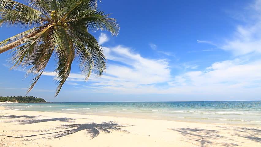Beautiful Beach Arkivvideomateriale (100 % royalty-fritt) 2420852 | Shutterstock