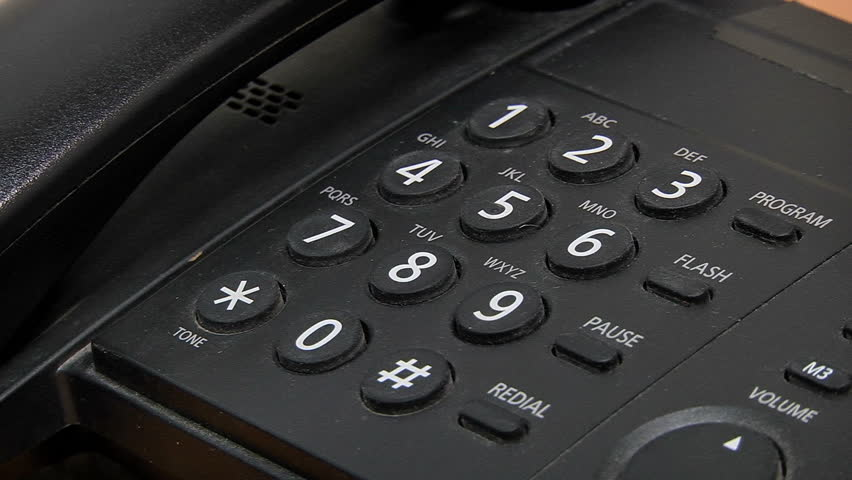 Dialing On a Touch Tone Stock Footage Video (100% Royalty-free) 24277142 |  Shutterstock