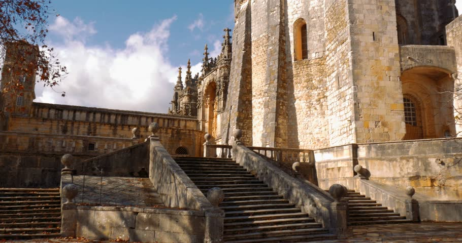 Convento De Cristo, Portugal | Shutterstock HD Video #24427652