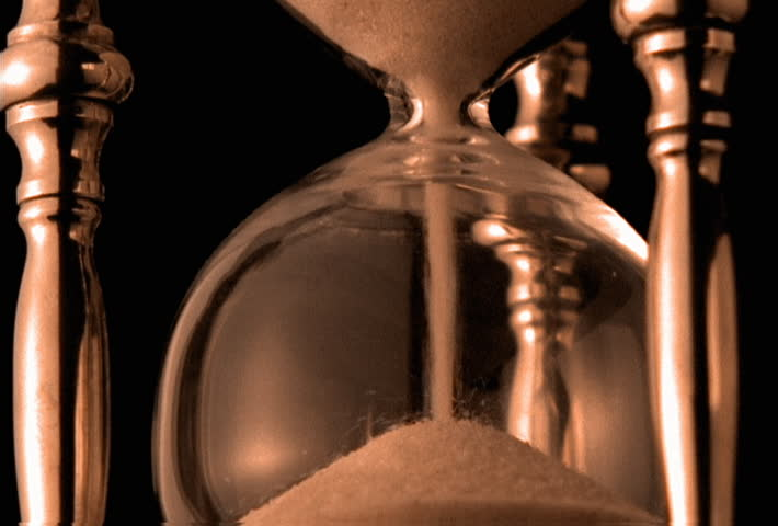 Hourglass emptying, close-up | Shutterstock HD Video #24452732