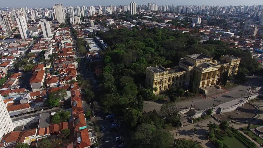 Flying over Ipiranga in Sao Paulo, Brazil #24491252