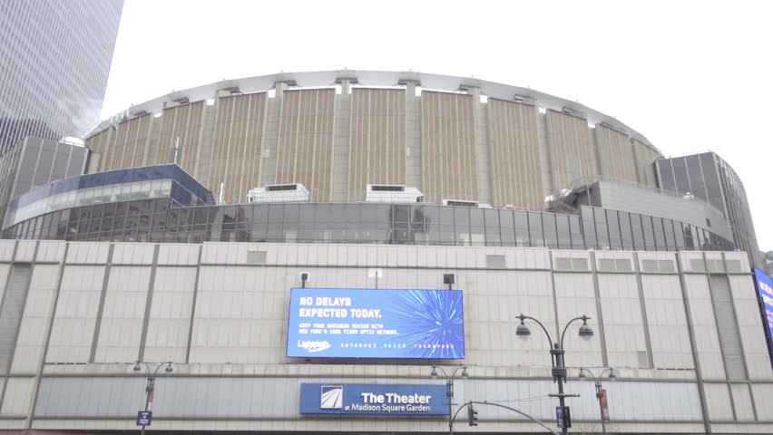 Madison Square Garden Stock Footage Video Shutterstock