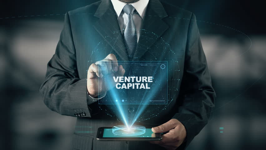Businessman with Venture Capital hologram concept choose Innovation from words | Shutterstock HD Video #24657332