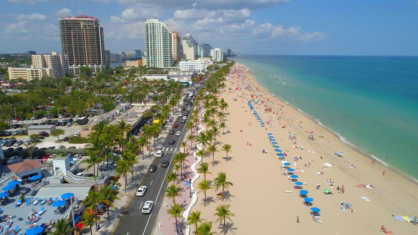 South Beach Miami Florida Stock Footage Video 23741155