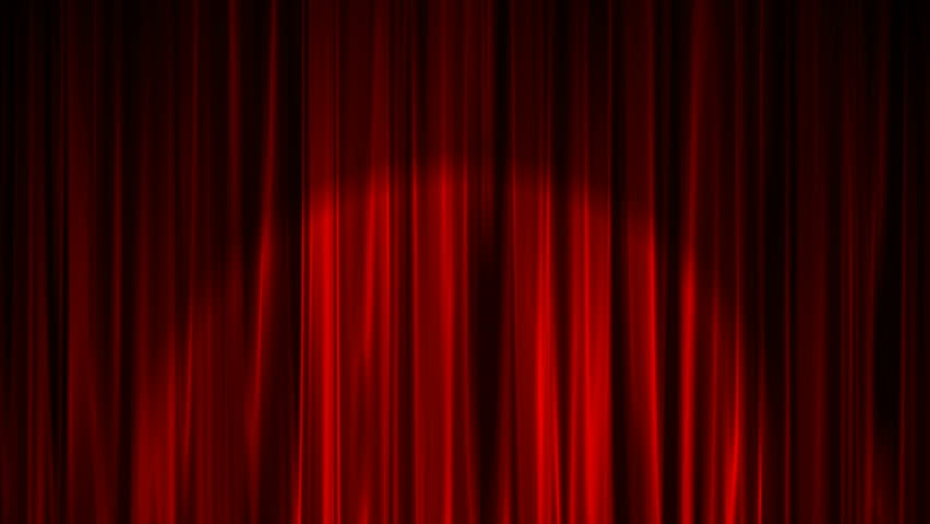Curtain with Spotlight | Shutterstock HD Video #24787202
