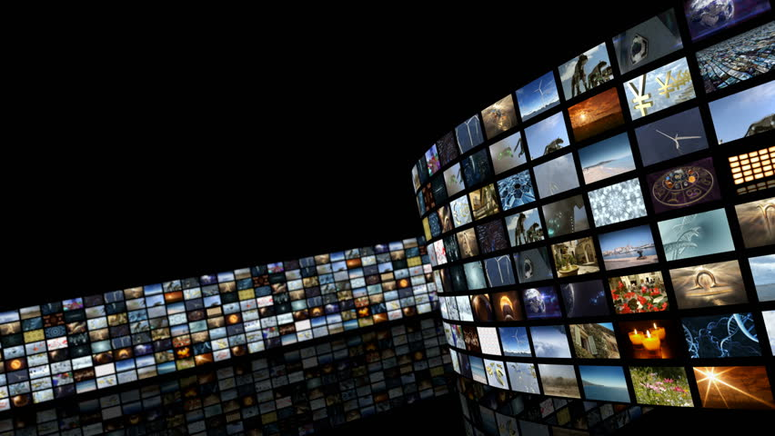 Animated Unrolling Media Video Wall  Stock Footage Video (100%  Royalty-free) 24901682 | Shutterstock