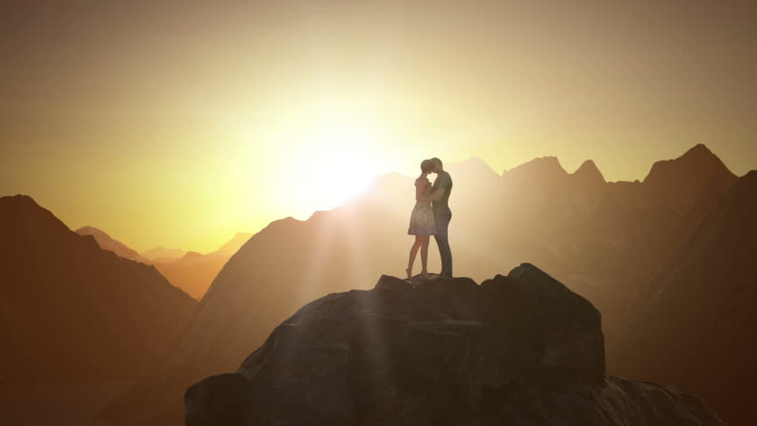 Couple Kissing | Shutterstock HD Video #25000022