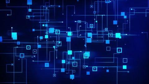 Computer Data Transfer Circuit Loop 4K