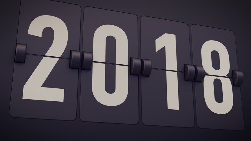 2018-2019. New Year concept. Set of digital countdown timer. Flip number counter template for 2018-2019 countdown. | Shutterstock HD Video #25134032