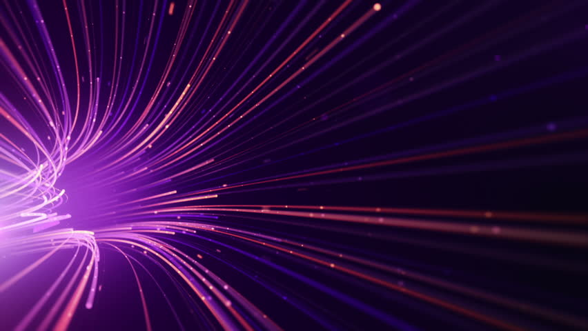 Abstract background with animation moving of lines for fiber optic network. Magic flickering dots or glowing flying lines. Animation of seamless loop. | Shutterstock HD Video #25151792