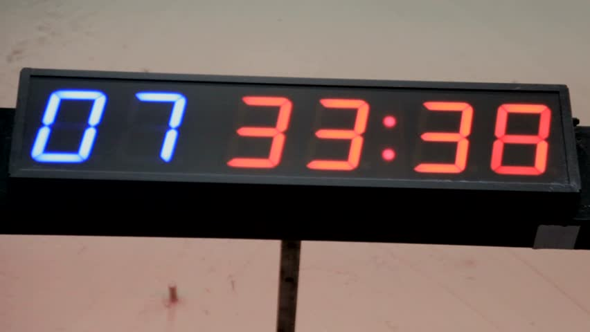 Digital clocks, large clocks, large dial