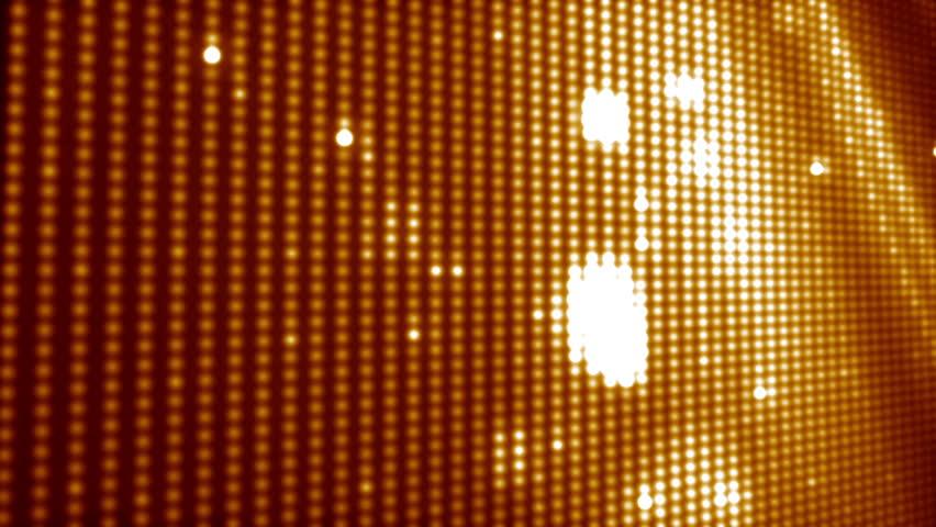 Golden led background loop