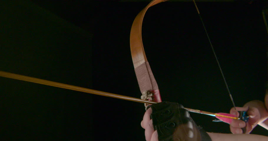 tension classic bow and arrow