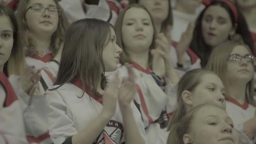 Girls Who Were Chanting Ukraine