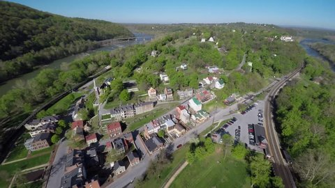 Harpers Ferry National Park is situated at the confluence of the Potomac & Shenandoah rivers where Maryland, Virginia and West Virginia meet. Known for John Brown's role in the Civil War.