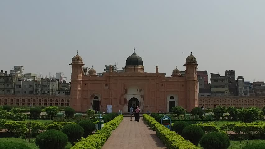 Dhaka bangladesh landscape landmark monuments lalbagh fort  | Shutterstock HD Video #25774532