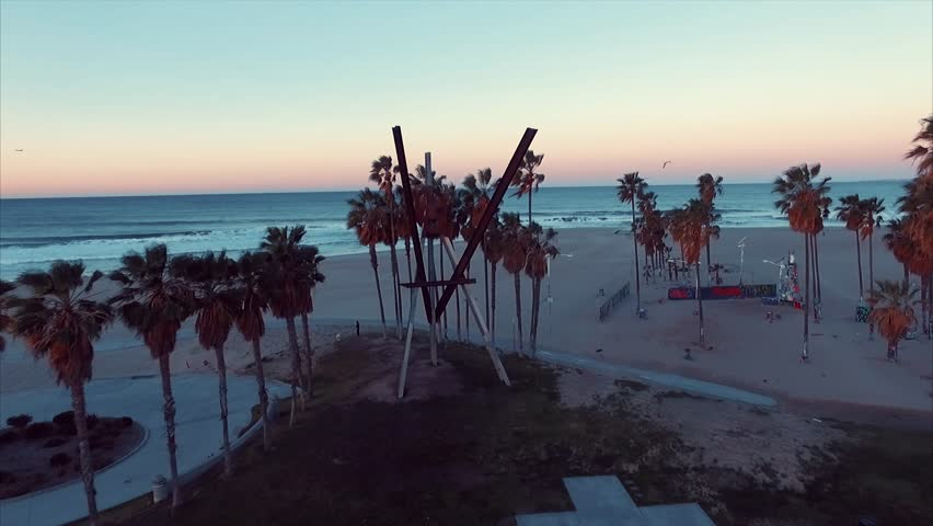Above the ocean (Venice beach)