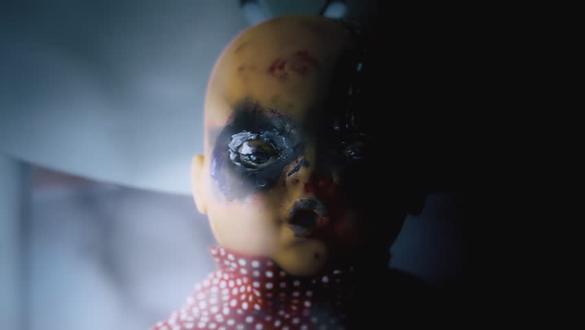 Fantastic A Scary Haunted Doll Eyes Stock Footage Video 100 Royalty Free 25808672 Shutterstock Ibusinesslaw Wood Chair Design Ideas Ibusinesslaworg