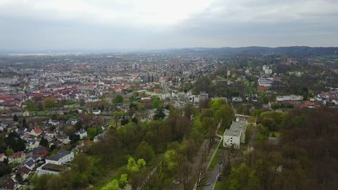Aerial View Bielefeld Germany