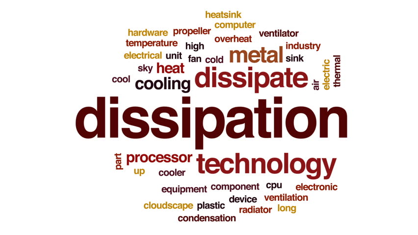 Header of dissipation