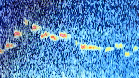 Spectrometer  graph research