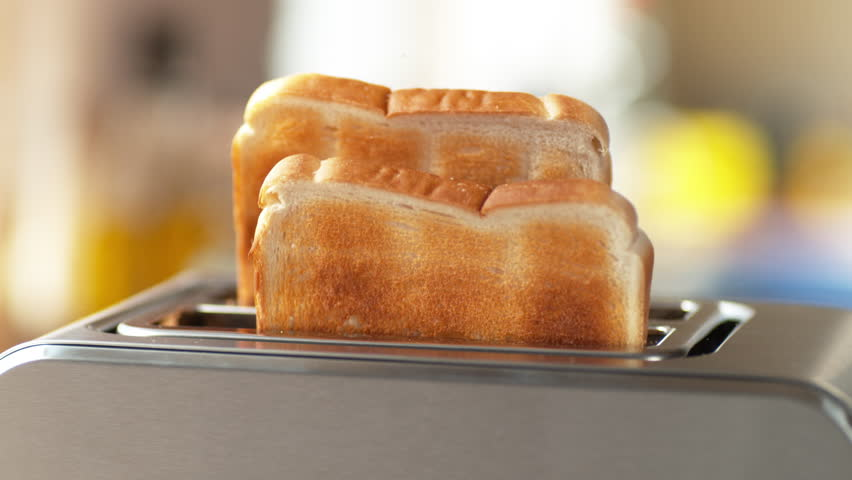 Toast popping out of toaster  | Shutterstock HD Video #26262842