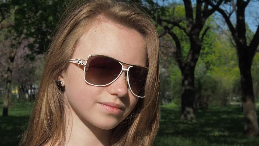 Teen babe Tatiana Kush looks so cute and innocent in glasses № 39380 загрузить