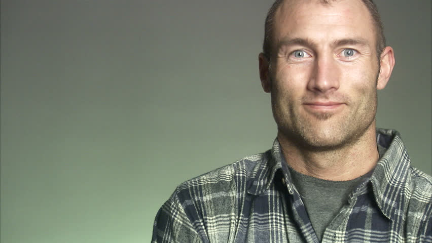 Portrait of a smiling man. #2637011