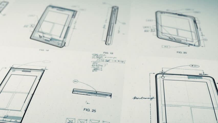 Technology Patents Drawing Animation | Shutterstock HD Video #2639090