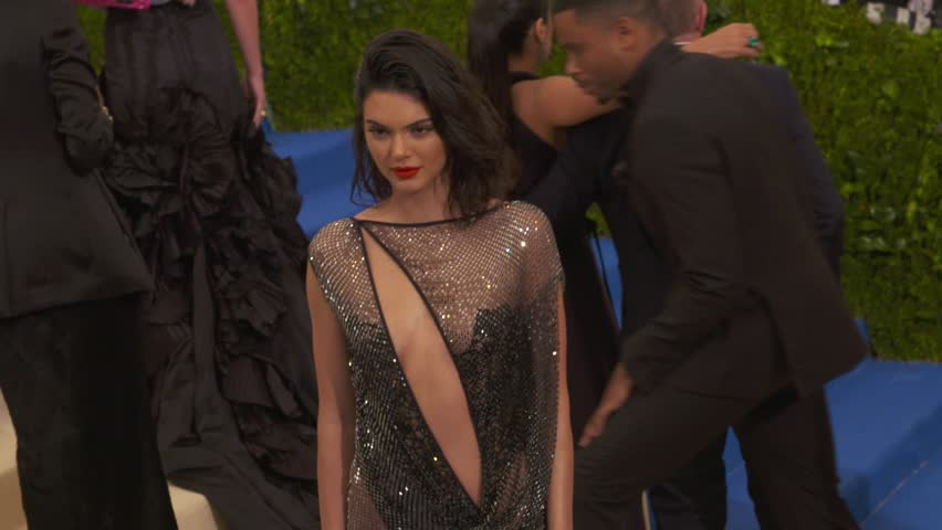 Metropolitan Museum of Art, New York, USA - 01 May 2017 - Kendall Jenner at The Costume Institute Benefit Gala celebrating Rei Kawakubo / Comme des Garcons: Art of the In-Between
