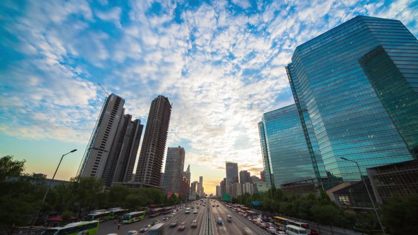 Sunset at Beijing   Shutterstock HD Video #2641763