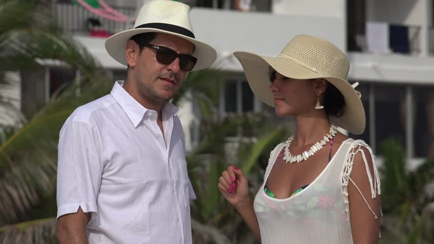 Tourist Married Couple Arguing Or Disagreeing | Shutterstock HD Video #26417852