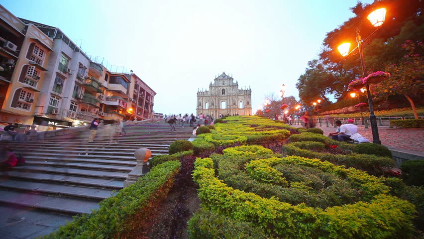Sunset at Macao | Shutterstock HD Video #2641796