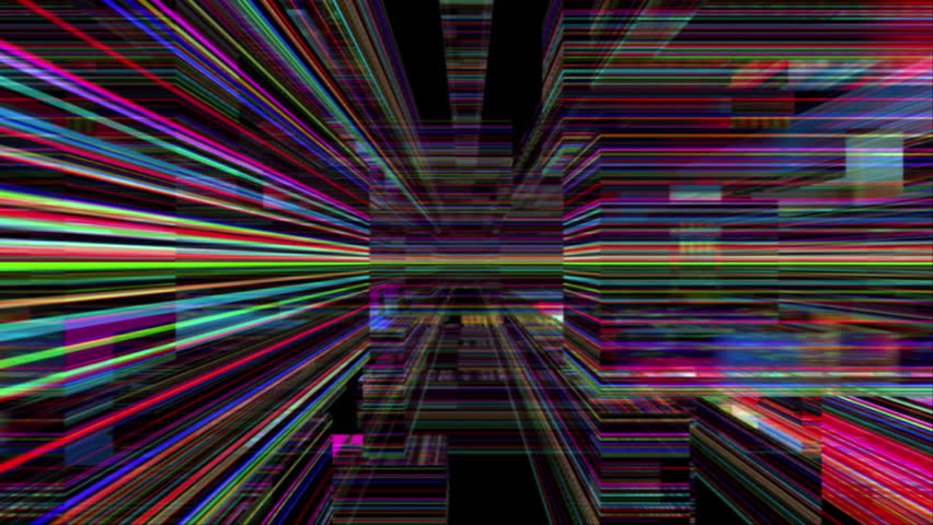 Abstract 0503: Traveling through a maze of refracted light (Loop). | Shutterstock HD Video #26445686